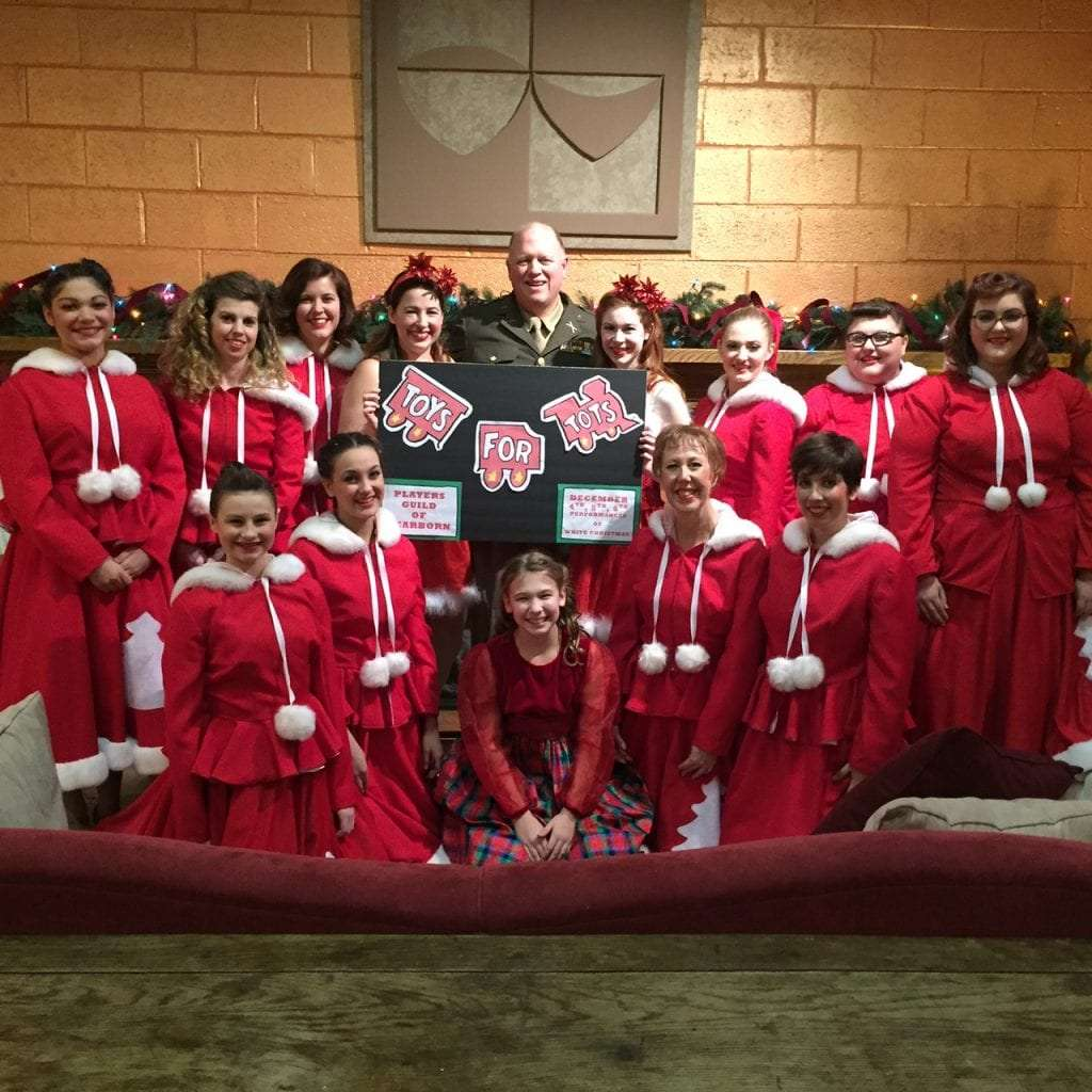 photo by diane kaplan players guild of dearborn white christmas cast and crew members - The Christmas Choir Cast